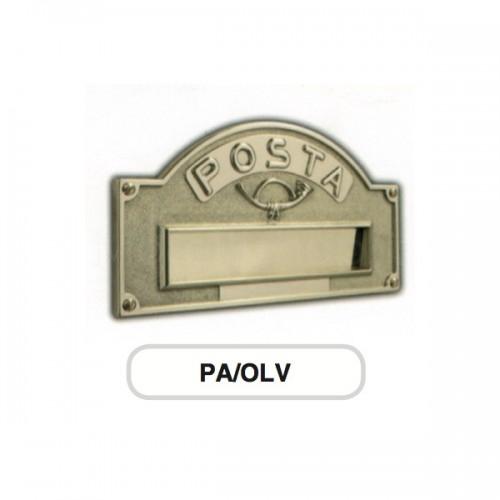 Asola ottone Mod. PA/OLV Morelli per cassetta postale