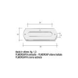 Asola per cassetta postale antracite Mod. PLMOROAP/A Morelli