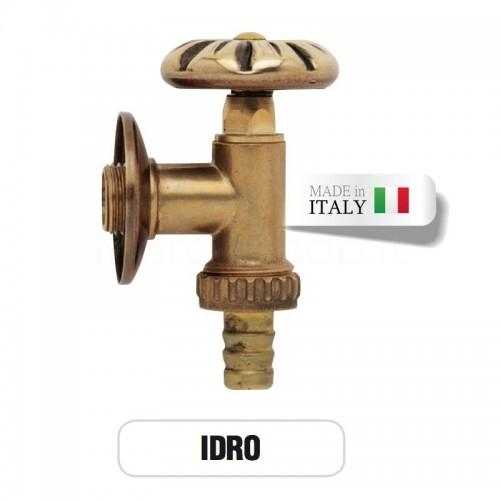 Rubinetto in ottone IDRO con portagomma Morelli