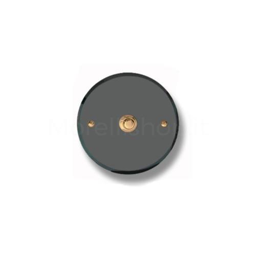 Pulsante campanello Mod. CS5/A ottone antracite  Alta...