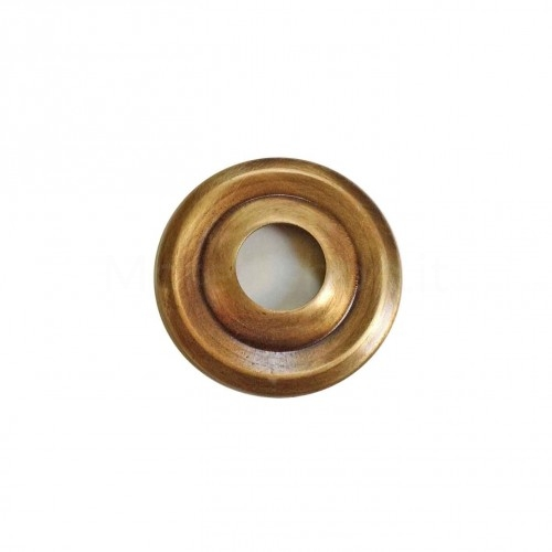 Rosone bronzato per rubinetto Morelli ELICA e QUASIMODO Ottone Made in Italy