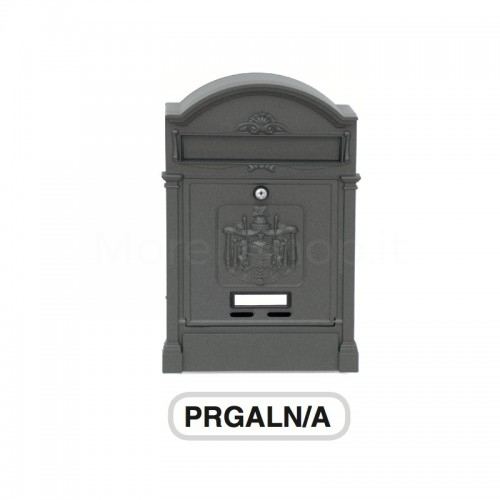 Cassetta postale in alluminio Mod.PRAGALN-A Morelli verniciata antracite