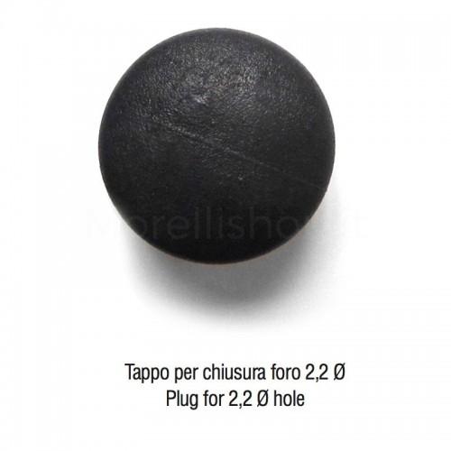 Tappo in plastica diametro 2,2 cm per chiusura foro
