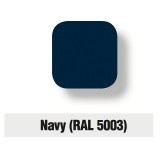 Servizio di verniciatura colore RAL 5003 - NAVY per Fontana