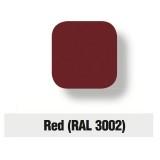 Servizio di verniciatura colore RAL 3002 - RED per Fontana
