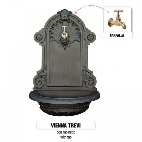 Fontana a muro in ghisa Mod. VIENNA TREVI Morelli -...