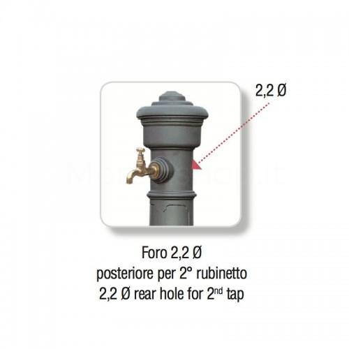 Foratura posteriore per aggiunta rubinetto - Morava Smart
