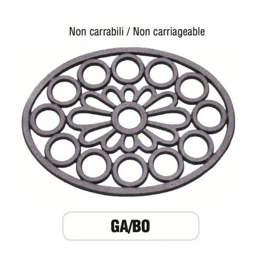 Griglia di aerazione Mod. GA-BO in alluminio Morelli - NON CARRABILE