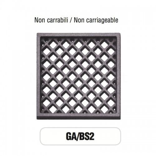 Griglia di Aerazione Mod. GA-BS2 in ghisa Morelli - NON CARRABILE