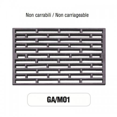 Griglia di Aerazione Mod. GA-M01 in ghisa Morelli - NON CARRABILE
