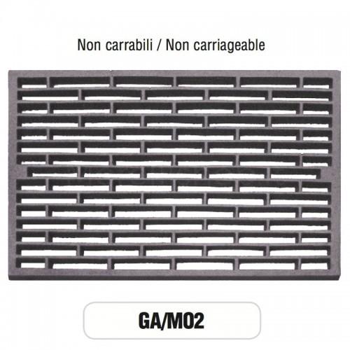 Griglia di Aerazione Mod. GA-M02 in ghisa Morelli - NON CARRABILE
