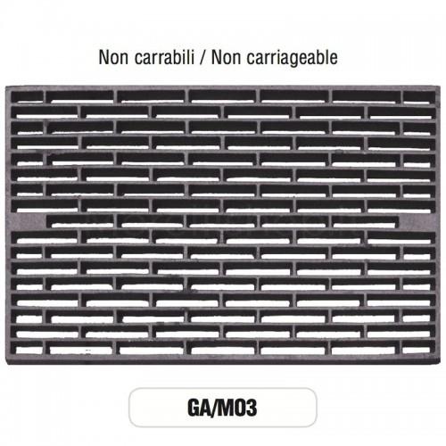 Griglia di Aerazione Mod. GA-M03 in ghisa Morelli - NON CARRABILE