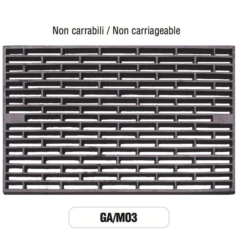 Griglia di aerazione mod ga m03 in ghisa morelli non carrabile morelli shop - Griglie di aerazione design ...