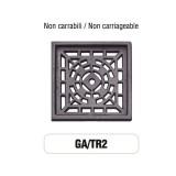 Griglia di Aerazione Mod. GA-TR2 in ghisa Morelli - NON CARRABILE