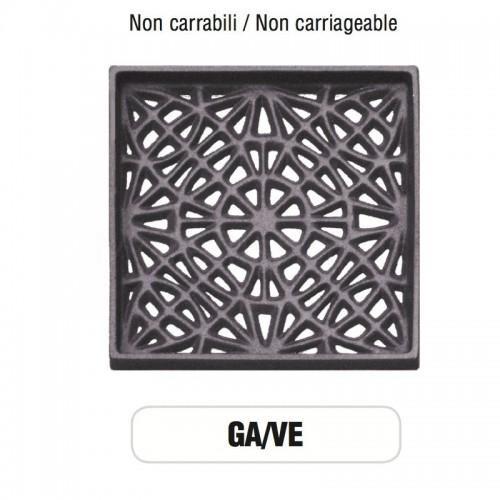 Griglia di Aerazione Mod. GA-VE in ghisa Morelli - NON CARRABILE