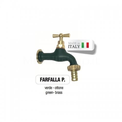 Servizio di verniciatura colore VERDE RAL 6005 - OPACO per rubinetti in ottone Morelli