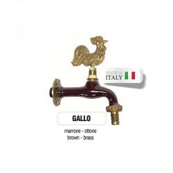 Servizio di verniciatura colore MARRONE RAL 8011 per rubinetti in ottone Morelli