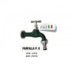 Servizio di verniciatura colore VERDE RAL 6005 - OPACO per rubinetti in ottone Cromato Morelli
