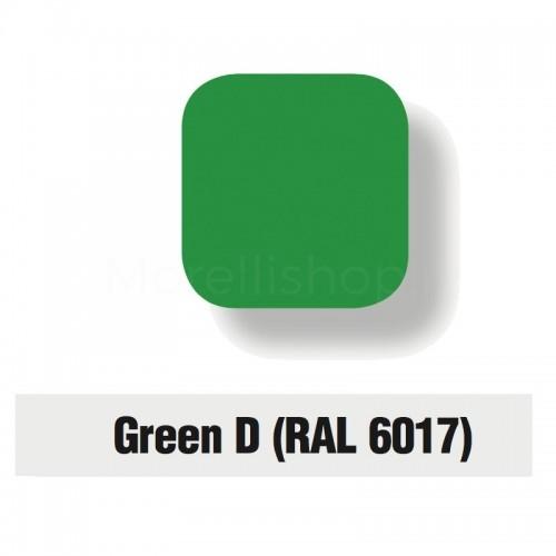 Servizio di verniciatura colore RAL 6017 - GREEN