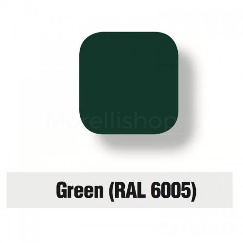 Servizio di verniciatura colore RAL 6005 - GREEN 2