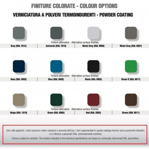 Servizio di verniciatura colore BIANCO RAL 9010 - OPACO per rubinetti in ottone Morelli