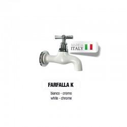 Servizio di verniciatura colore BIANCO RAL 9010 - OPACO per rubinetti in ottone Cromato Morelli