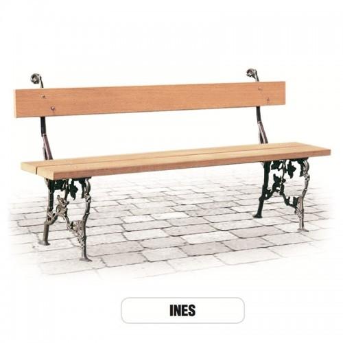 Panchina INES Arredo esterno giardino - Morelli
