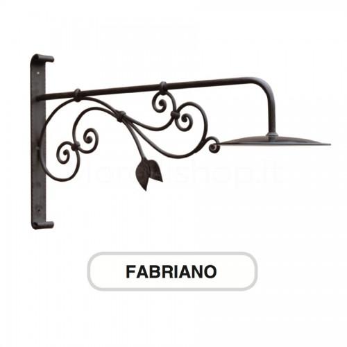 Lampione Mod. FABRIANO ferro battuto Morelli - Arredo giardino