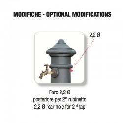 Foratura posteriore per aggiunta rubinetto - Apulia Grande - Servizio su misura