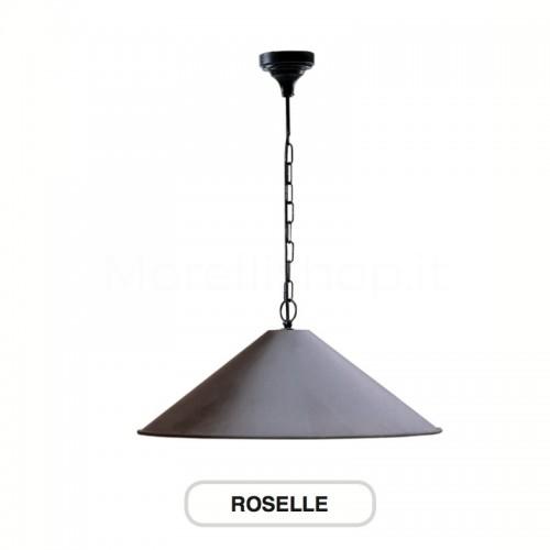 Lampione Mod. ROSELLE ferro battuto Morelli - Arredo giardino