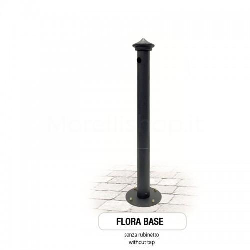 Fontana da giardino in ghisa e ferro Mod. SOLO CORPO FLORA - PERSONALIZZABILE - Morelli - Arredo esterno