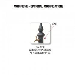 Foratura posteriore per aggiunta rubinetto - Monachella Smart - Servizio su misura