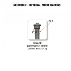 Foratura posteriore per aggiunta rubinetto - Morava Grande - Servizio su misura