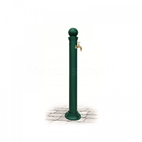 Fontana da giardino in alluminio Mod. EUGENIA GREEN Morelli - Arredo esterno