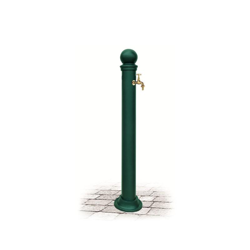 Fontana da giardino in ghisa e ferro mod eugenia green for Arredo da giardino in ferro