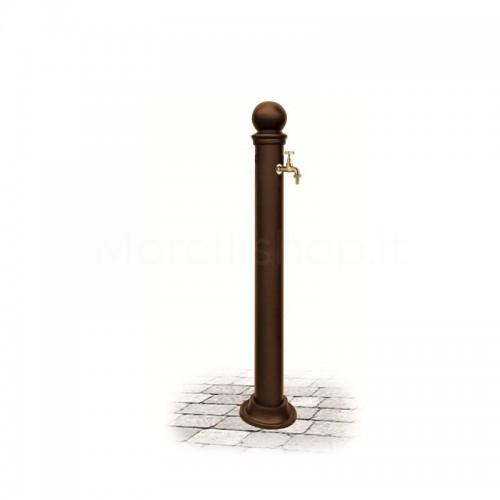 Fontana da giardino in alluminio Mod. EUGENIA BROWN Morelli - Arredo esterno