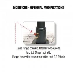 Foratura posteriore per aggiunta rubinetto - Fungo - Servizio su misura