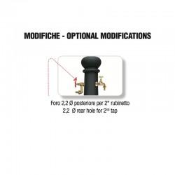 Foratura posteriore per aggiunta rubinetto - Junior - Servizio su misura