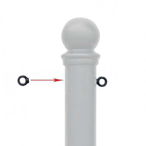 Servizio su misura - aggiunte anelli per aggancio catena