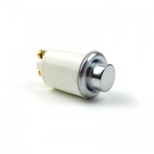 Pulsante in ottone Cromato Mod. DONG KS per campanello ricambio originale Morelli