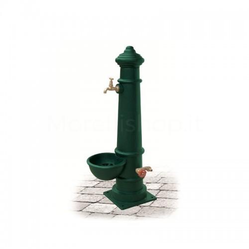 Fontana da giardino in ghisa Mod. APULIA SMART GREEN Morelli - Arredo giardino