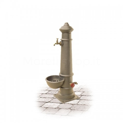 Fontana da giardino in ghisa Mod. APULIA SMART BEIGE Morelli - Arredo giardino