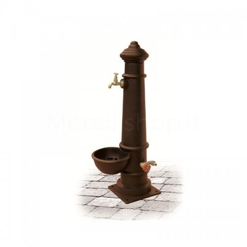Fontana da giardino in ghisa Mod. APULIA SMART BROWN Morelli - Arredo giardino
