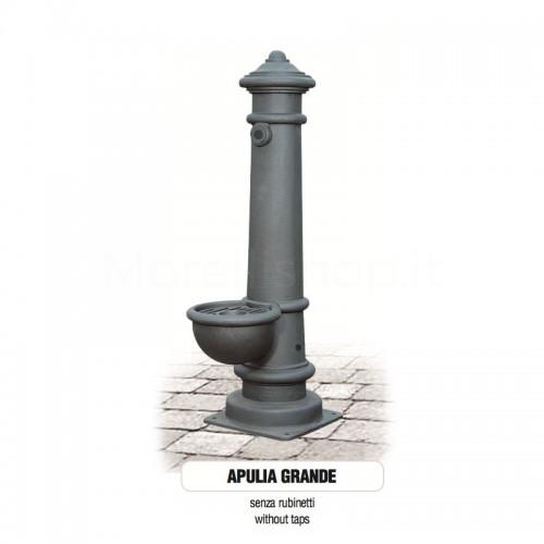 Fontana da giardino in ghisa Mod. SOLO CORPO APULIA GRANDE - PERSONALIZZABILE Morelli - Arredo esterno