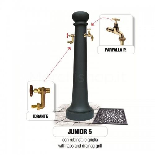 Fontana da giardino in ghisa Mod. Junior 5 Morelli - Arredo esterno