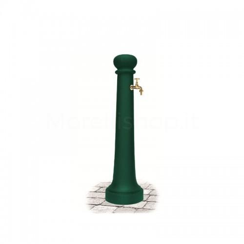 Fontana da giardino in ghisa Mod. Junior GREEN Morelli - Arredo esterno