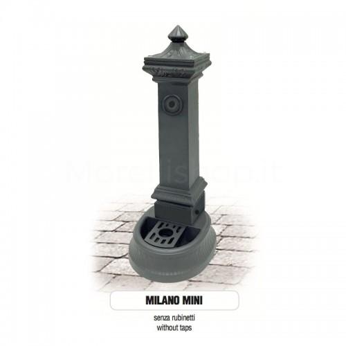 Fontana da giardino in ghisa Mod. SOLO CORPO MILANO MINI - PERSONALIZZABILE Morelli - Arredo esterno