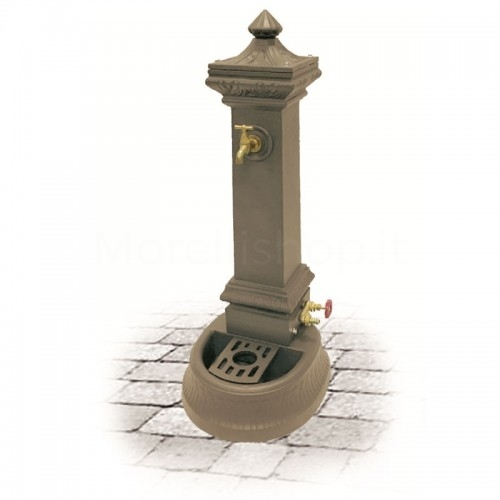 Fontana da giardino in ghisa Mod. MILANO MINI BEIGE Morelli - Arredo esterno