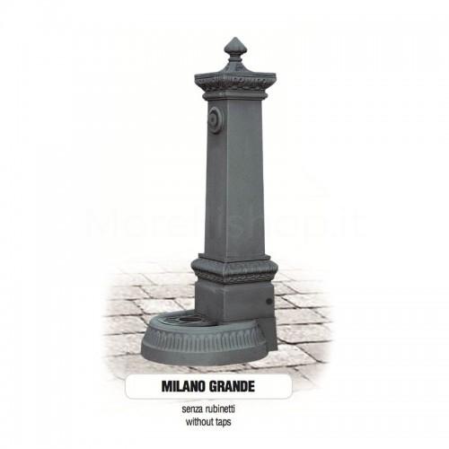 Fontana da giardino in ghisa Mod. SOLO CORPO MILANO GRANDE - PERSONALIZZABILE Morelli - Arredo esterno