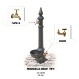 Fontana da giardino in ghisa Mod. MONACHELLA SMART TREVI Morelli - Arredo esterno